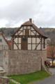 Ebersburg Schmalnau Half-timbered Building Catholic Church St Martin Wall.png