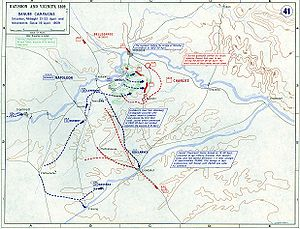 War of the Fifth Coalition - The Landshut Maneuver and the expulsion of Austrian forces from Bavaria.