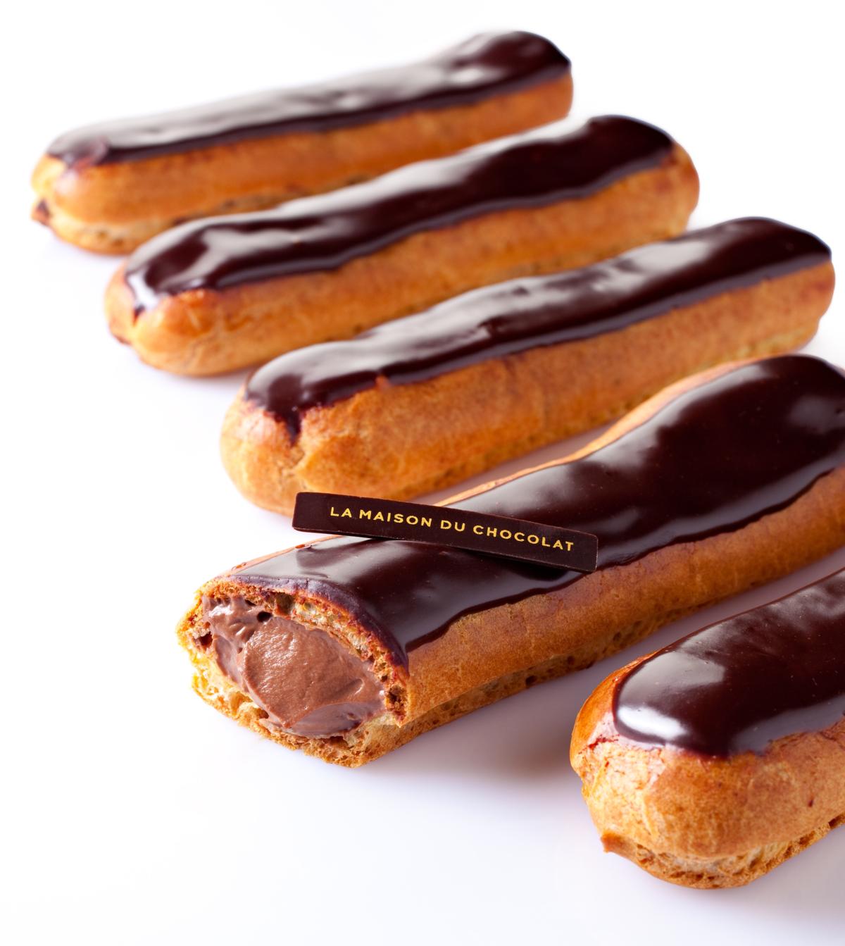Clair p tisserie wikip dia - Glacage chocolat pour eclair ...