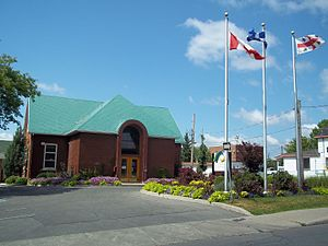 L'Île-Bizard, Quebec - Former town hall of L'Île-Bizard