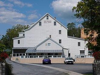Edinburg, Virginia - The Mill in Edinburg, Virginia (1848).