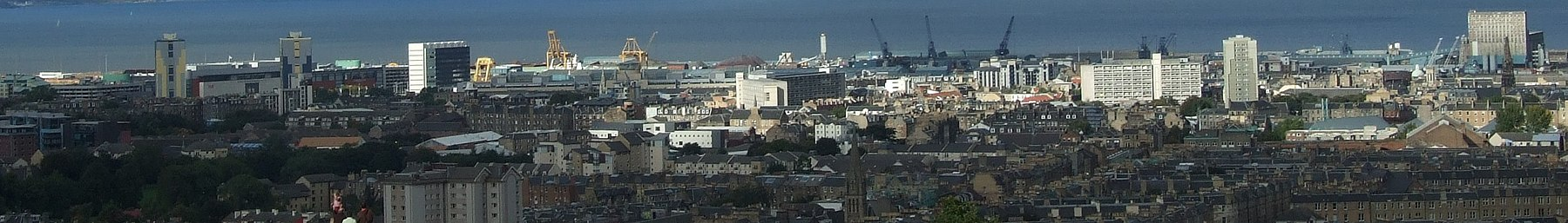 Leith from Calton Hill