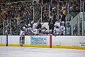 Edmonton Oilers Rookies vs UofA Golden Bears (15088648280).jpg