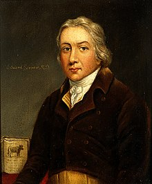 Edward Jenner Edward Jenner. Oil painting. Wellcome V0023503.jpg
