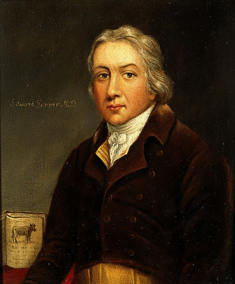 Edward Jenner. Oil painting. Wellcome V0023503.jpg