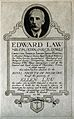 Edward Law. Photogravure. Wellcome V0003433.jpg