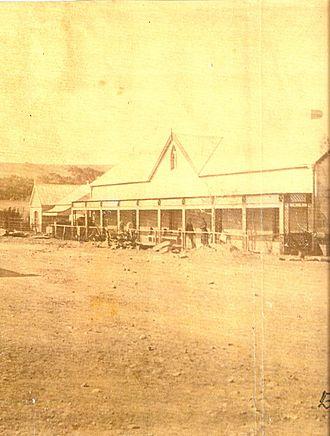 Eerste Pastorie Winburg - Eerste Pastorie 1884 - After the rebuild