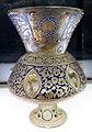 Egitto o siria, periodo mamelucco, lampada da moschea, xiv secolo 05.jpg