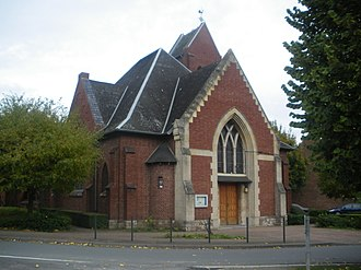 Hulluch - The church of Hulluch