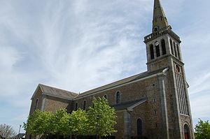 Plédran - The church of Plédran