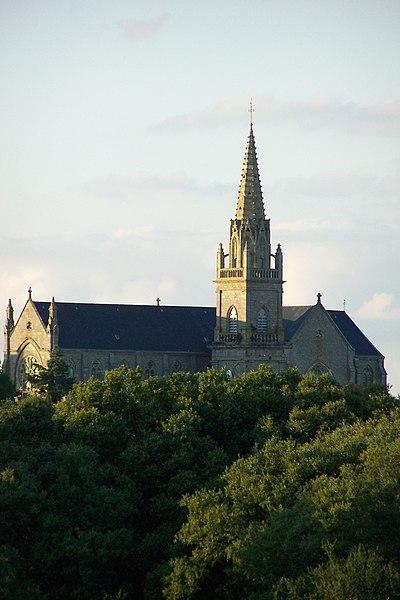 église de Plouhinec (Morbihan)