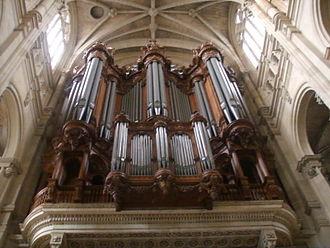 J. L. van den Heuvel Orgelbouw - Image: Eglise di Saint Eustache organo