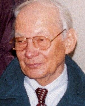 Manfred Eigen - Manfred Eigen, Göttingen 1996
