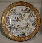 Eight Views of Biwa Lake, Kutani ware, Japan, mid 19th century, porcelain - Cincinnati Art Museum - DSC03159.JPG