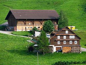 Farmhouse - A farmhouse in Einsiedeln, Switzerland (bottom)