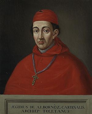 Gil Álvarez Carrillo de Albornoz - The Cardinal Gil Álvarez de Albornoz by Matías Moreno, Museo del Prado