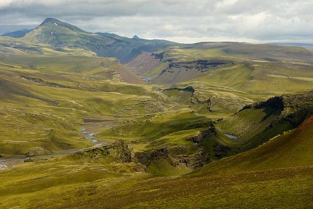 Eldgjá: El cañón de fuego, Islandia.