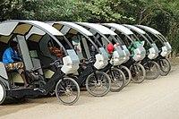 Electric rickshaw - Wikipedia