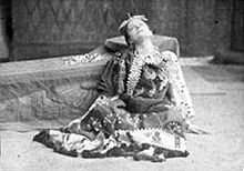Eleonora Duse in Antonio e Cleopatra, 1888 circa.