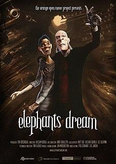 <i>Elephants Dream</i> 2006 computer animated short film directed by Bassam Kurdali