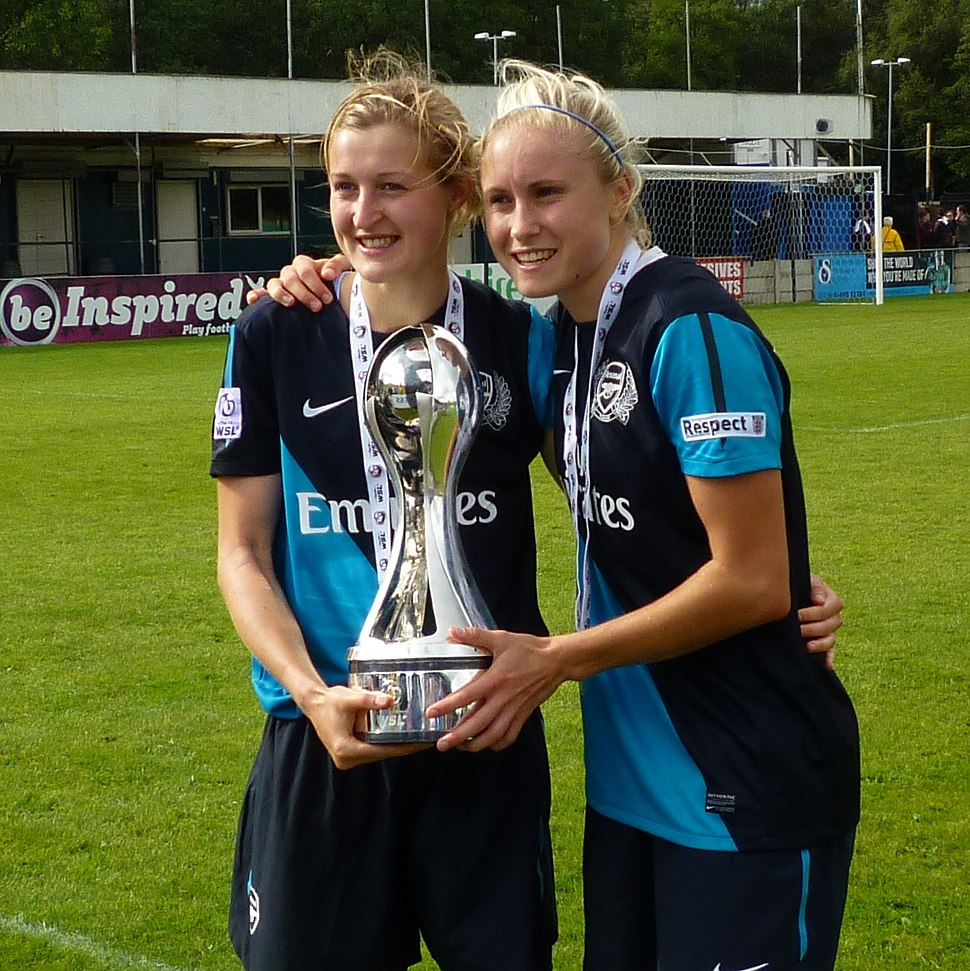 Ellen White and Steph Houghton