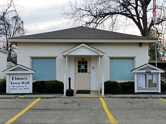 Elmore, Alabama - Elmore Town Hall