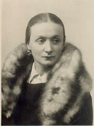 Elvira Kralj - Elvira Kralj in the 1930s