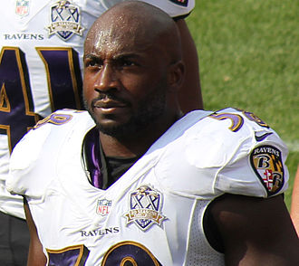 Elvis Dumervil - Dumervil with the Baltimore Ravens in 2015