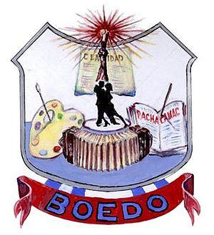 Boedo - Image: Emblema Boedo