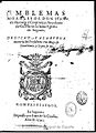 Emblemas Morales de Don Iuan de Horozco y Couarruuias 1591.jpg