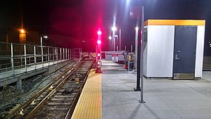 Oak Grove (MBTA station) - The 2014-constructed emergency exit