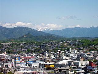 Ena, Gifu City in Chūbu, Japan