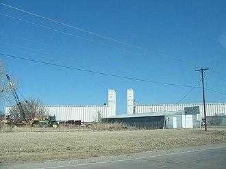 Enid Terminal Grain Elevators Historic District - Image: Enid grain