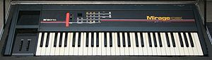 Ensoniq Mirage - Ensoniq Mirage DSK