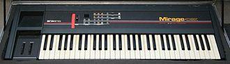Ensoniq - Mirage DSK-1 (c.1985)