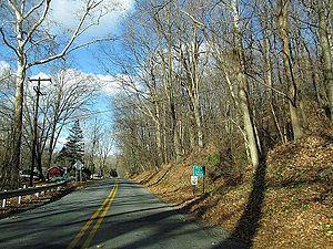 Harmony Township, New Jersey - Entering Harmony Township along County Route 621
