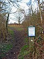 Entrance to Hartlebury Common - geograph.org.uk - 1708545.jpg