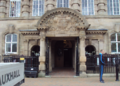 Entrance to Leigh Town Hall, Greater Manchester - DSC09955.PNG