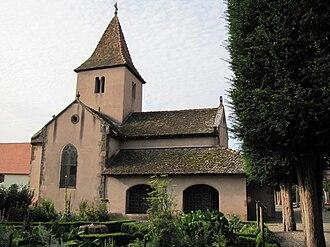 Saint Margaret's Chapel, Epfig - Image: Epfig Ste Marguerite 01