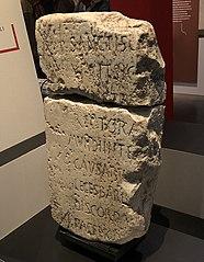 Epitaph of Apollinaris Sidonius, or of his son Apollinaris