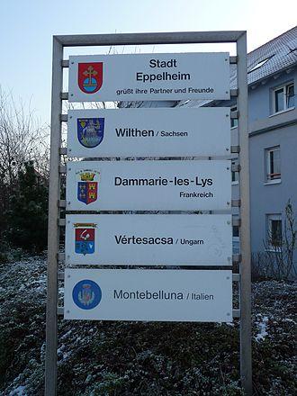 Eppelheim - twinned