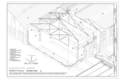 Erecting Shop Structural Isometric - Southern Pacific, Sacramento Shops, Erecting Shop, 111 I Street, Sacramento, Sacramento County, CA HAER CA-303-A (sheet 8 of 9).png