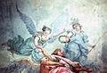 Erhebung des Großen Kurfürsten in den Olymp (van Loo) - der Kurfürst mit Chronos, Victoria und Minerva.jpg
