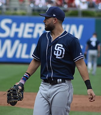 Eric Hosmer - Hosmer with the San Diego Padres in 2018