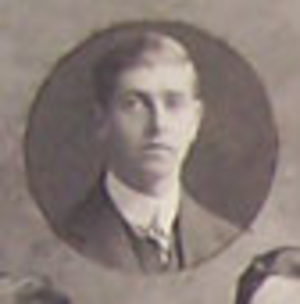 Eric Milroy - Eric Milroy with the British Isles team in 1910