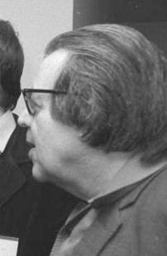 Erich Fried - Fried in 1981