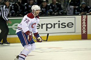 Erik Cole - Cole pictured during his time with the Montreal Canadiens.