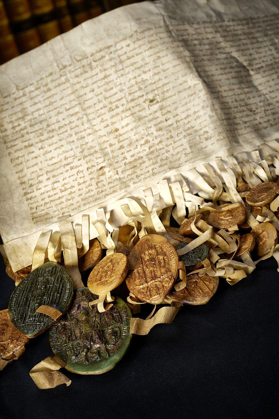 Erik af Pommerns kroningsbrev