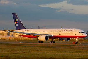 Eritrean Airlines Boeing 757 KvW.jpg
