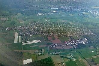 Erzhausen - Image: Erzhausen Luftbild